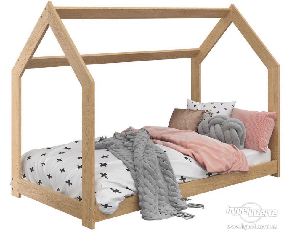 Dětská postel DOMEČEK - foto 1