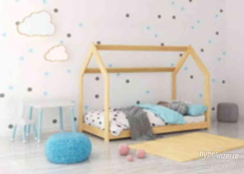 Dětská postel DOMEČEK - foto 3