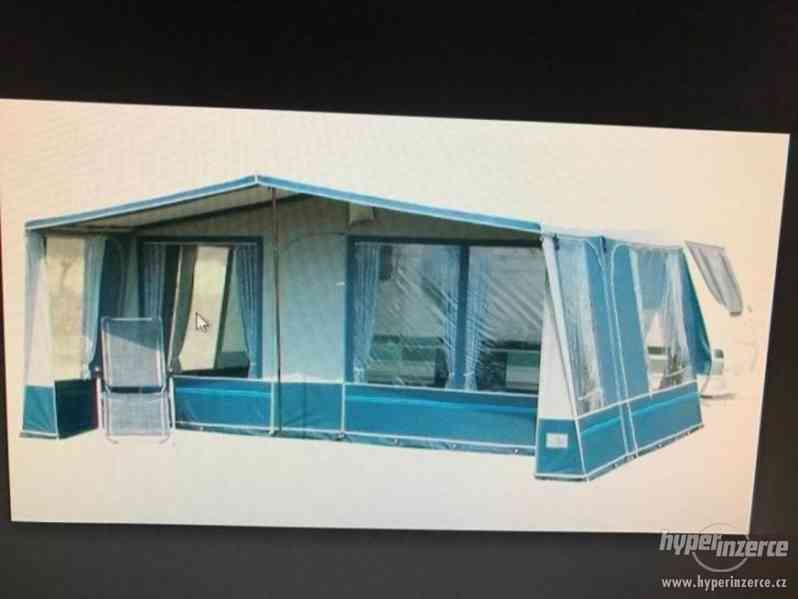 Prodám karavan Hobby 495 ufe, model 2005 + před stan. - foto 20