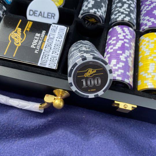 Pokerový set hrací (kufřík).