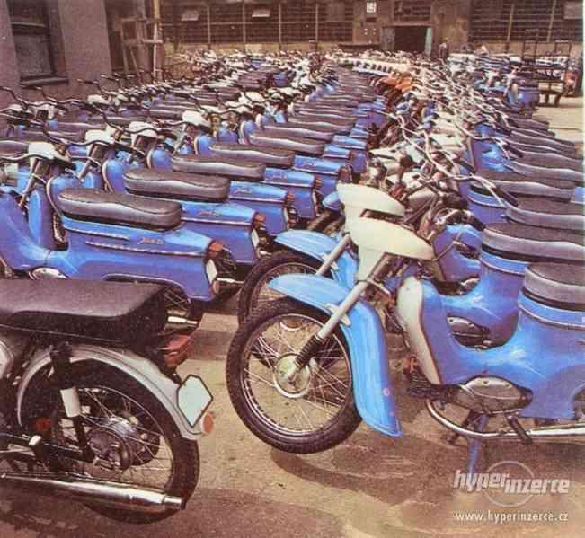 KOUPÍM starou motorku nebo moped JAWA
