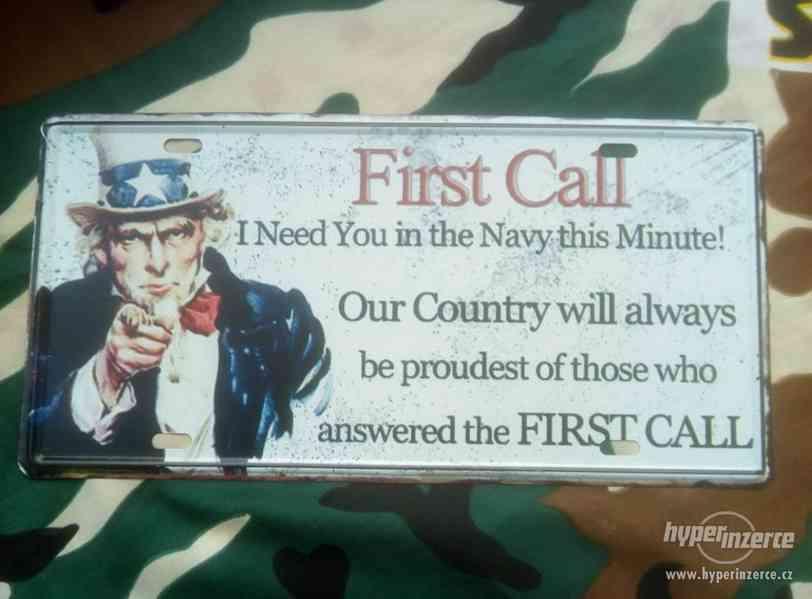 Army plechová cedule - foto 2