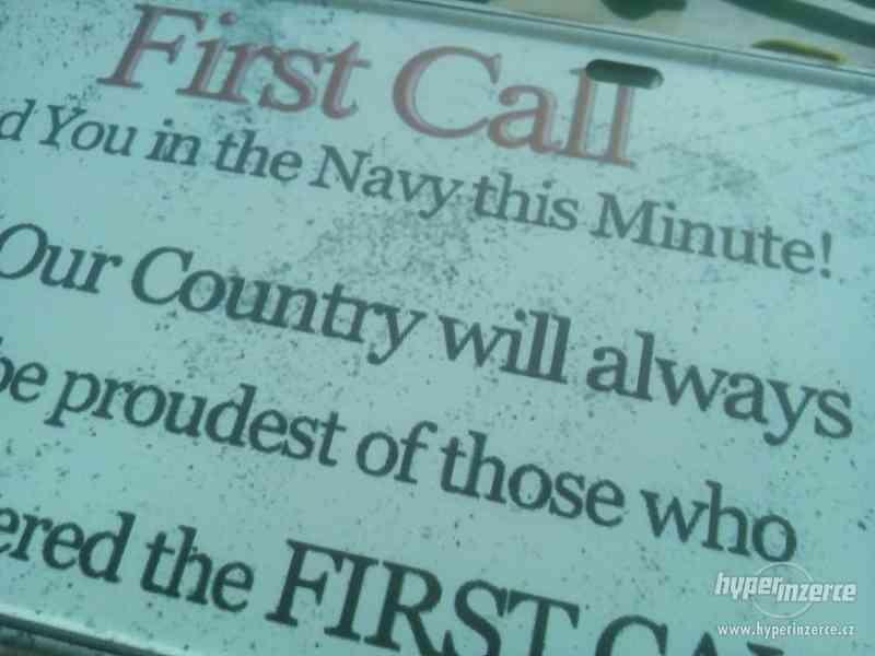 Army plechová cedule - foto 4