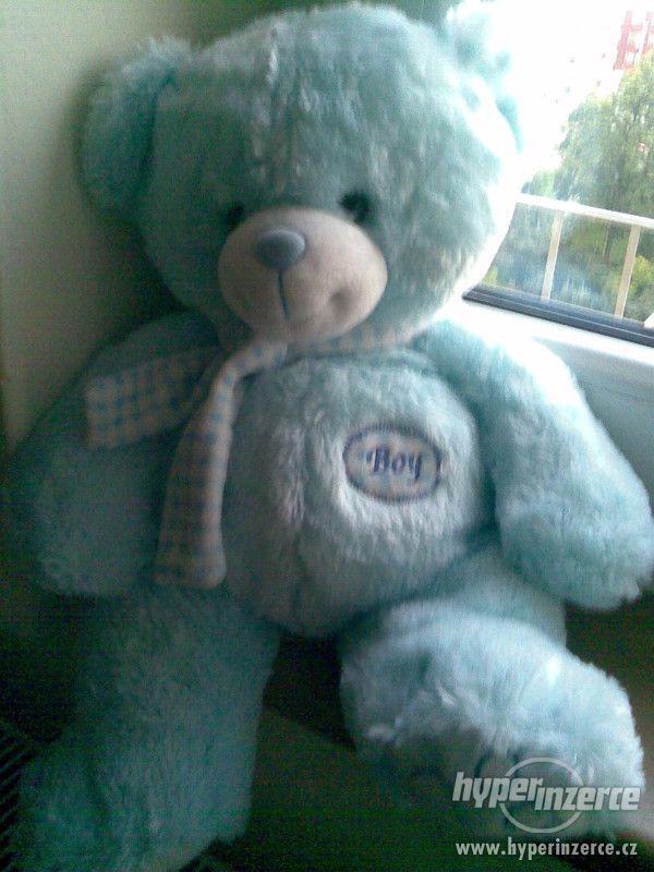 PRODÁM světle modrého medvídka - foto 1