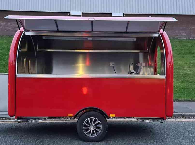 erzoda Food Trailer,Food Truck,Pojízdné občerstvení 280cm