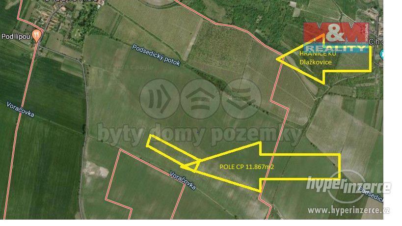 Prodej pole, 11867 m?, Dlažkovice - foto 2