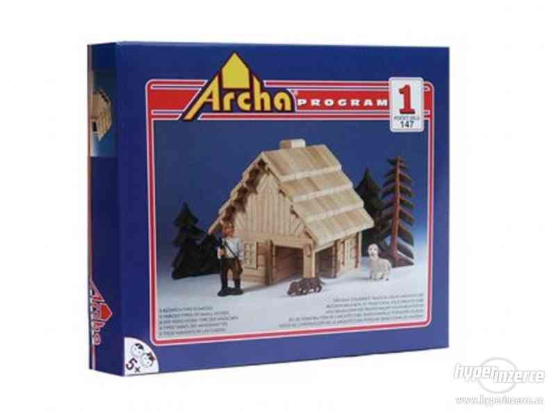 Dřevěná stavebnice Archa 1 - český výrobek