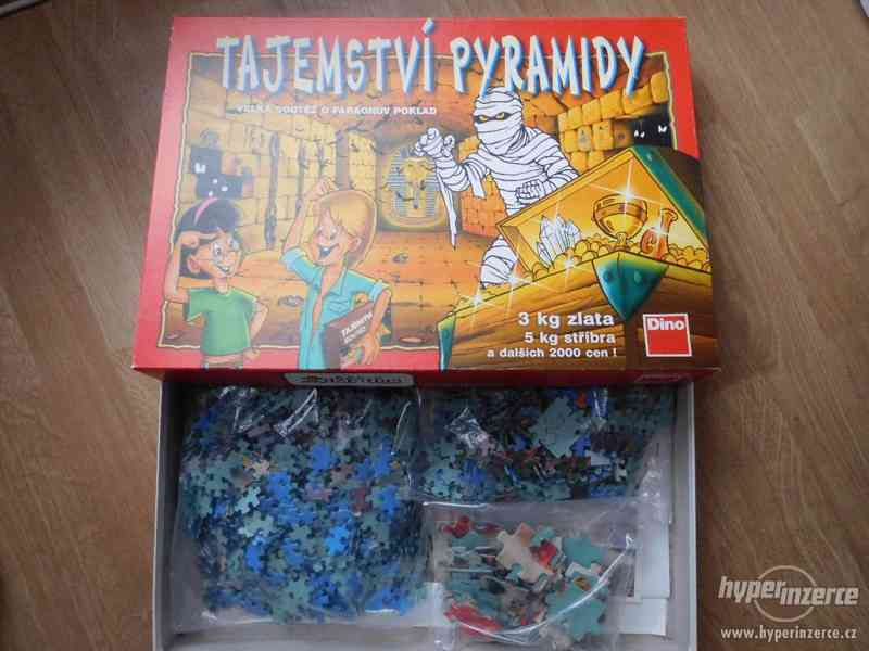 Puzzle 3 v 1 +  malé puzzle
