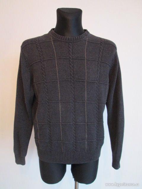 Pánské svetry - pánské značkové oblečení - foto 2