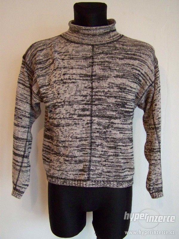 Pánské svetry - pánské značkové oblečení - foto 6