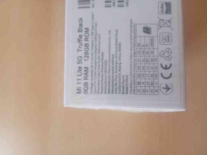 Mi 11 Lite 5G Truffle Black  6GB RAM 128GB ROM - foto 4
