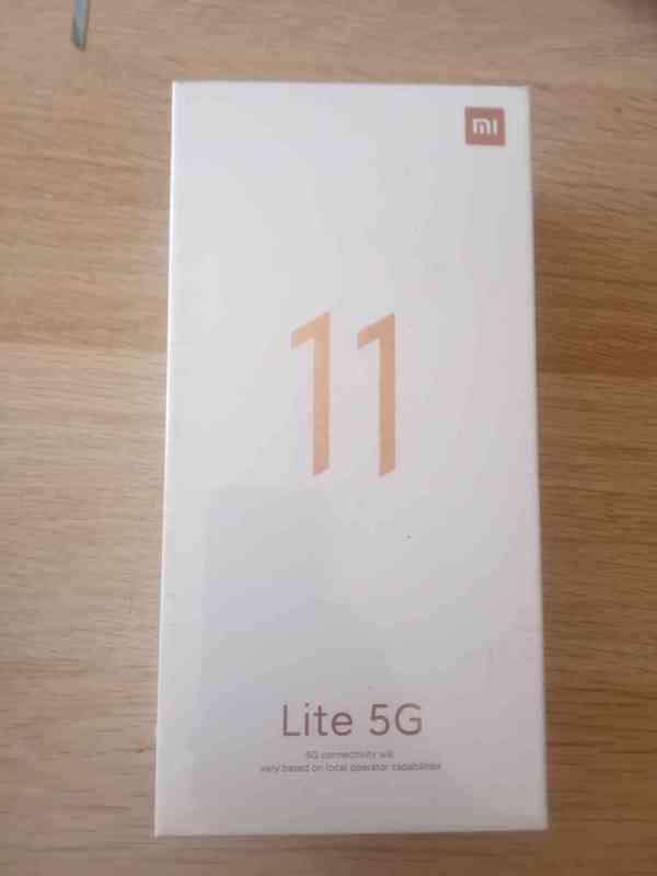 Mi 11 Lite 5G Truffle Black  6GB RAM 128GB ROM - foto 2