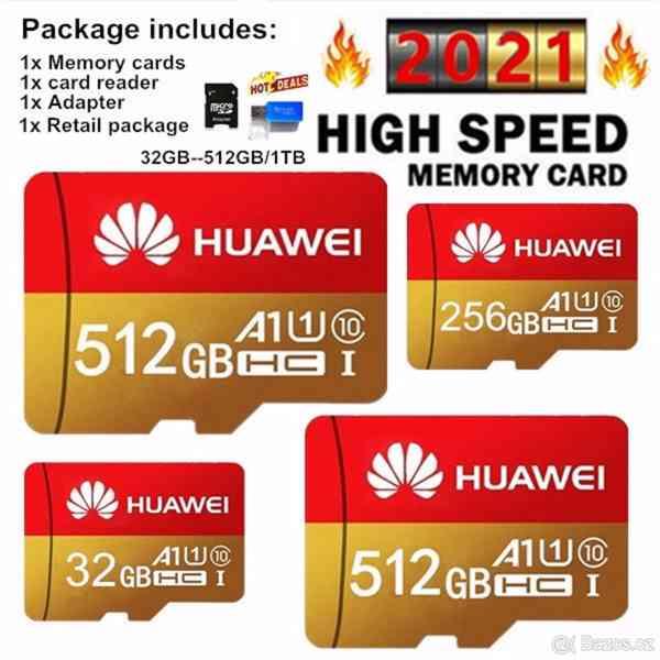Paměťová karta Micro SDHC 512 GB+ SD+ USB adaptér - foto 8