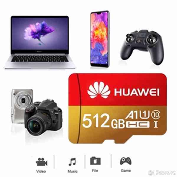 Paměťová karta Micro SDHC 512 GB+ SD+ USB adaptér - foto 7