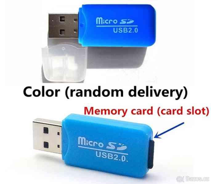 Paměťová karta Micro SDHC 512 GB+ SD+ USB adaptér - foto 2