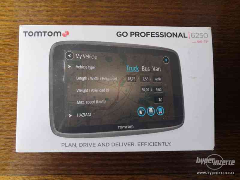 Navigace TOMTOM GO Professional 6250-nová