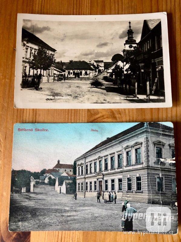 Staré pohledy města Stříbrná Skalice - foto 1