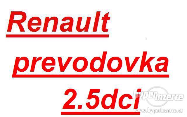 Renault prevodovka Trafic 2.5dci prevodovka PF6 prevodovka o
