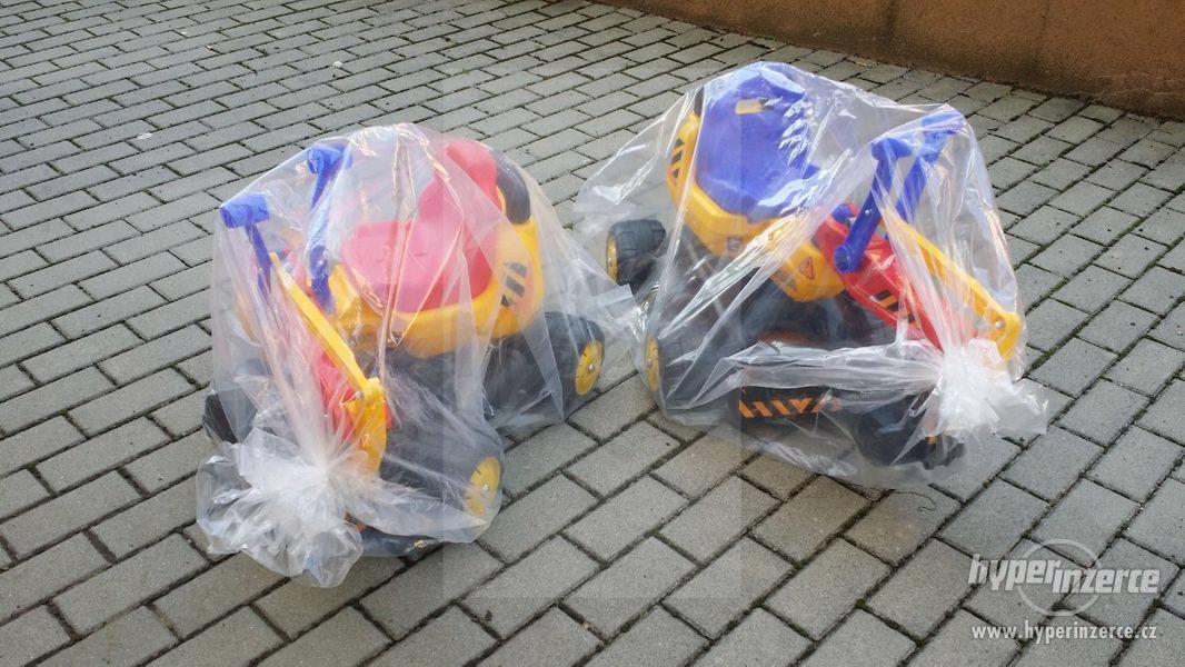 NOVY Bagr pro děti odrážedlo ( Možnost Dopravy ZDARMA ) - foto 5