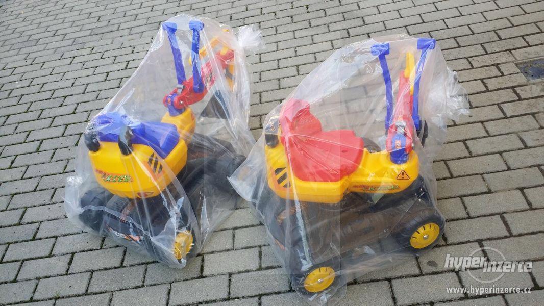 NOVY Bagr pro děti odrážedlo ( Možnost Dopravy ZDARMA ) - foto 6