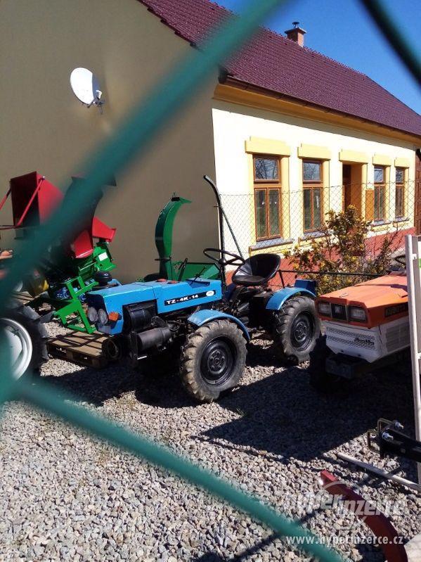 Malotraktor T4K14- prodám