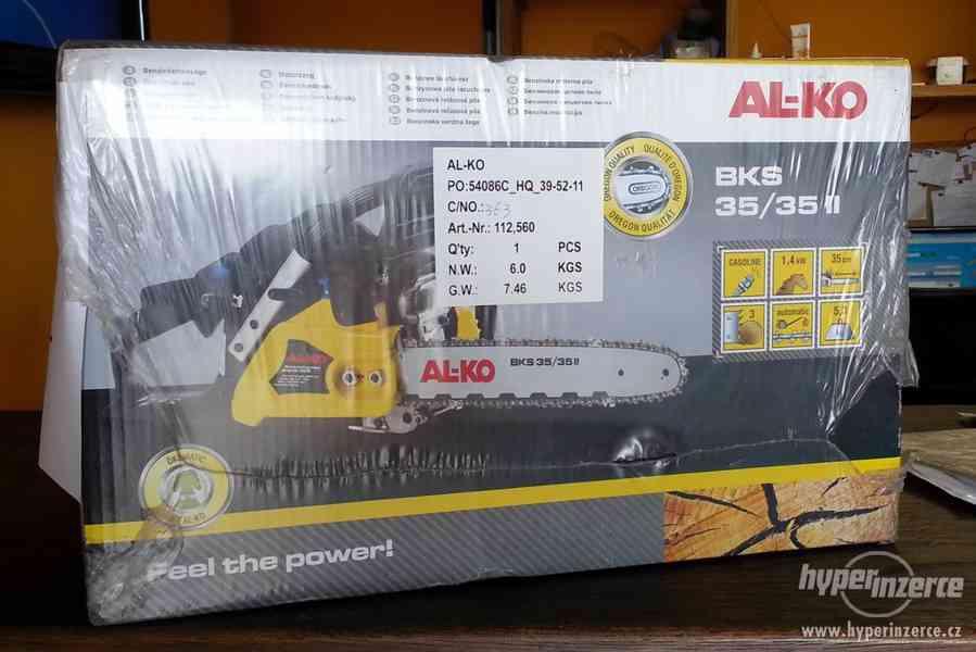 Prodám novou benzinovou motorovou pilu AL-KO BKS 35/35 II, 1 - foto 1