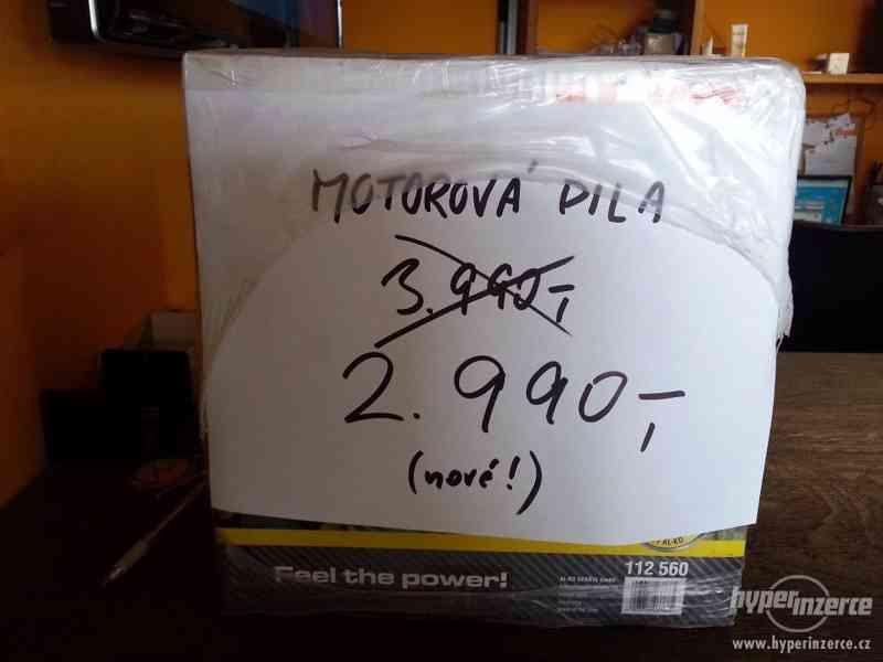 Prodám novou benzinovou motorovou pilu AL-KO BKS 35/35 II, 1 - foto 2