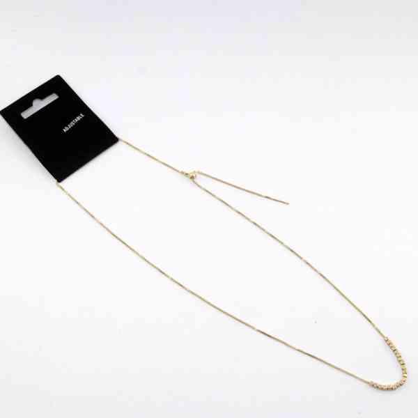 Pilgrim - Jemný náhrdelník s mini kostkami Velikost: OS