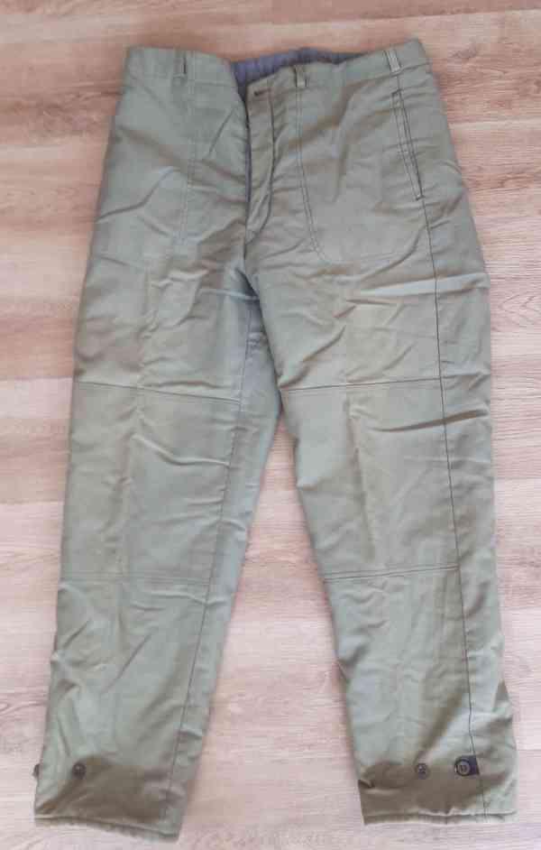 Prodám zimní pracovní oblečení - tzv. vaťáky - foto 3