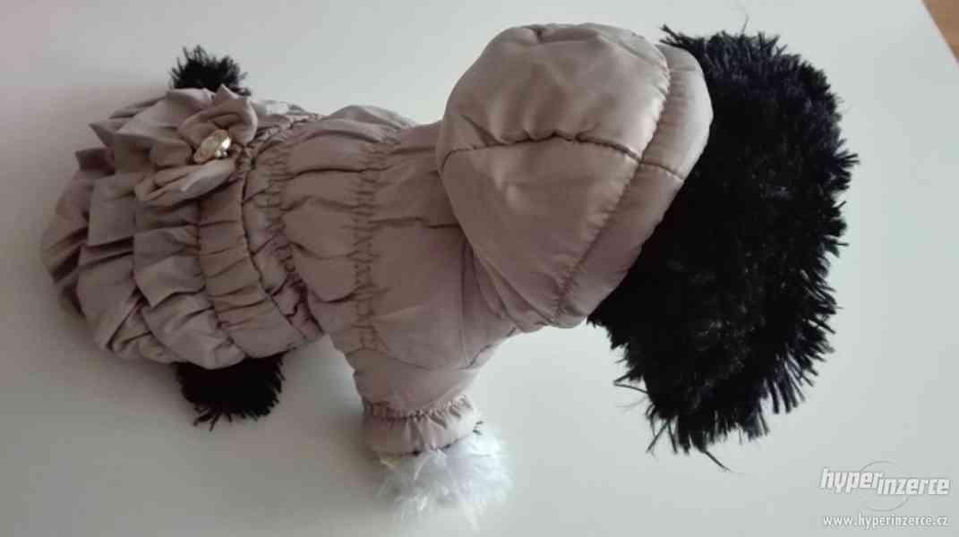 doprodej - kabátek / bunda pro psa, béžová barva