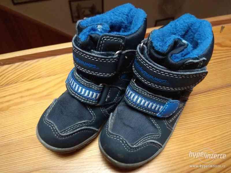 Dětské zimní boty vel 21