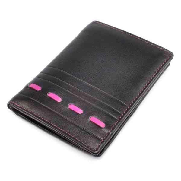 Kožená pánská moderní peněženka - foto 2