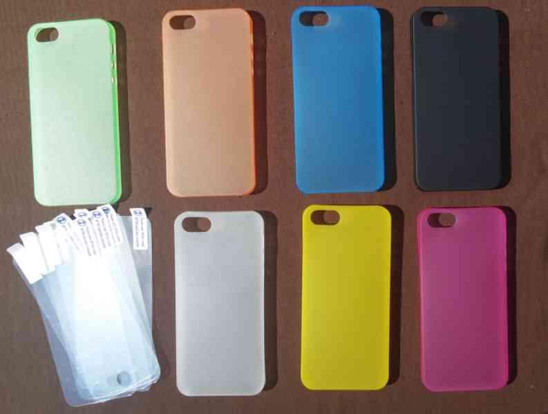 iPhone 5 / 5s obal + fólie + poštovné zdarma