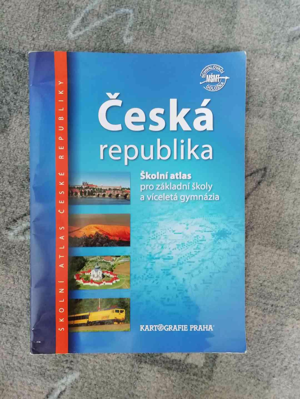 Školní atlas: Česká republika (pro ZŠ a víceletá gymnázia) - foto 1
