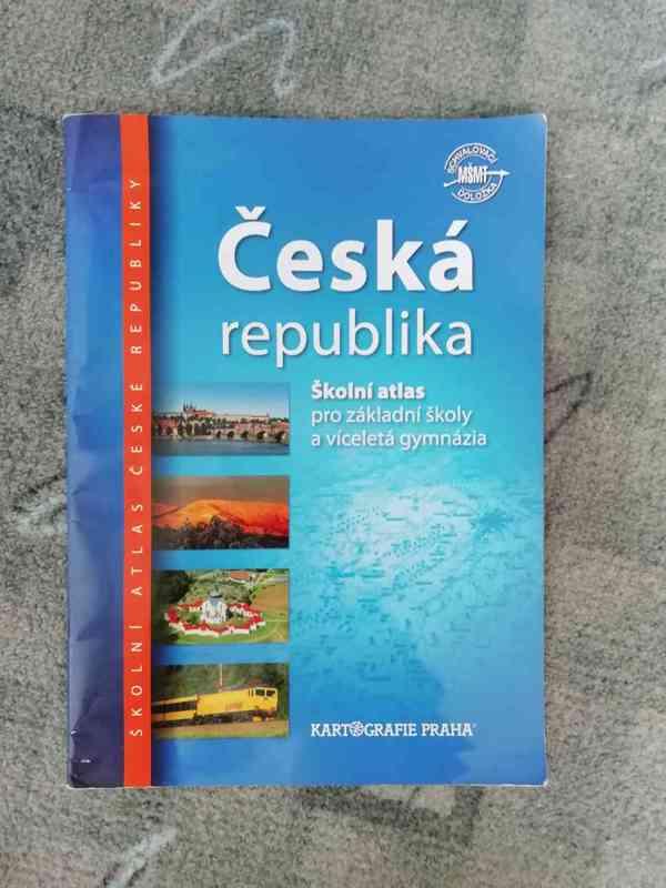 Školní atlas: Česká republika (pro ZŠ a víceletá gymnázia)