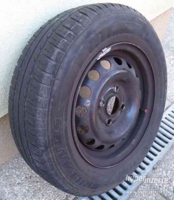 Ocelové disky + pneu 175/70 R13 Opel Astra apod.