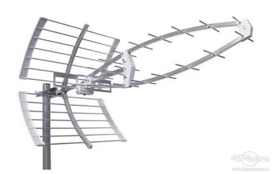 DVB-T2 výkonná anténa16,5 dB  GSA-38