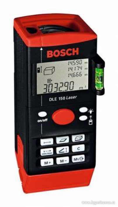 DLE 150 - profi laserový měřič vzdáloností 150 m