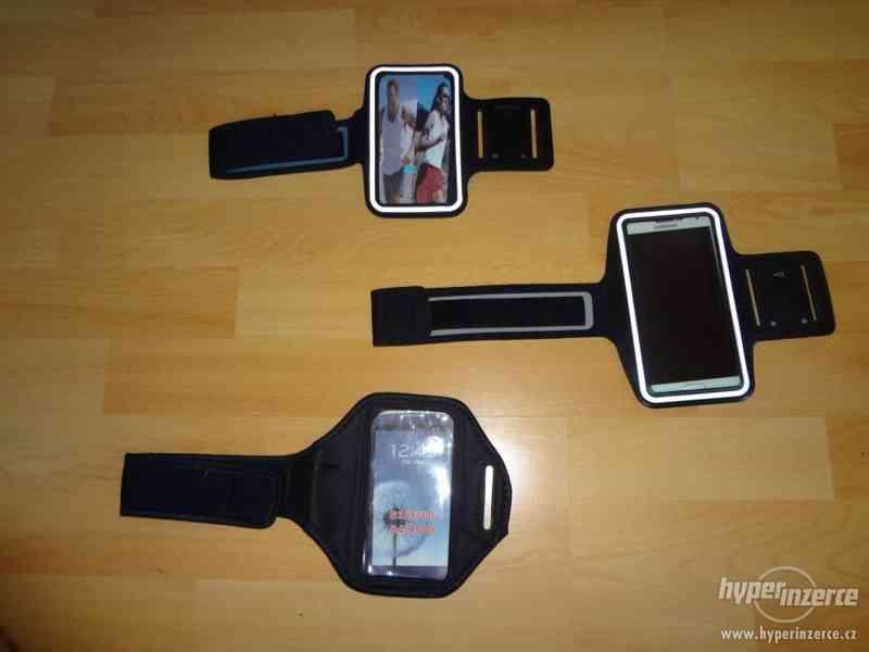 Sportovní pouzdro na ruku pro mobilní telefon, i barevne - foto 3