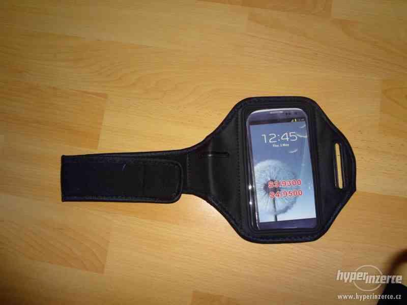 Sportovní pouzdro na ruku pro mobilní telefon, i barevne - foto 4