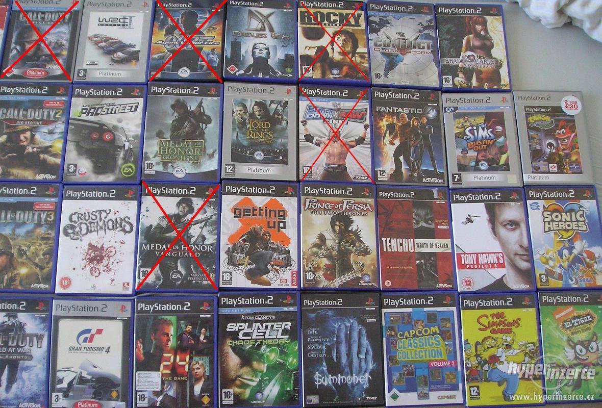 PS2 hry pro fajnšmekry - rarity i klasika - ruším sbírku - foto 1