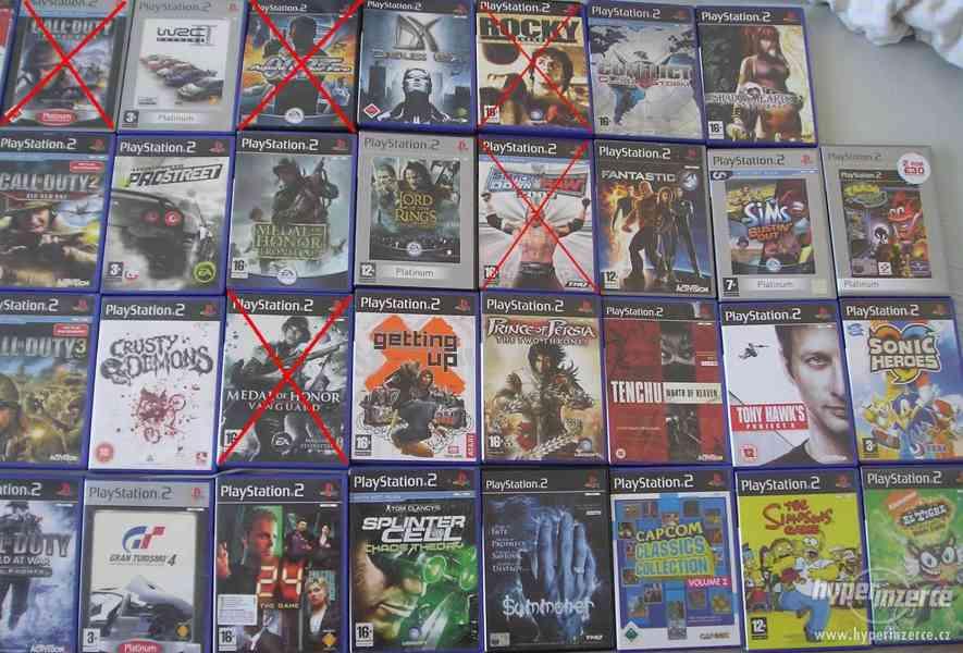 PS2 hry pro fajnšmekry - rarity i klasika - ruším sbírku