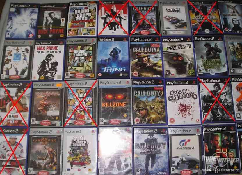 PS2 hry pro fajnšmekry - rarity i klasika - ruším sbírku - foto 2