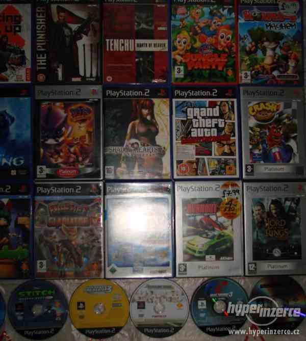 PS2 hry pro fajnšmekry - rarity i klasika - ruším sbírku - foto 4