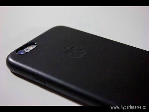 Kožený kryt Iphone 6/6S - černý, hnědý - foto 6