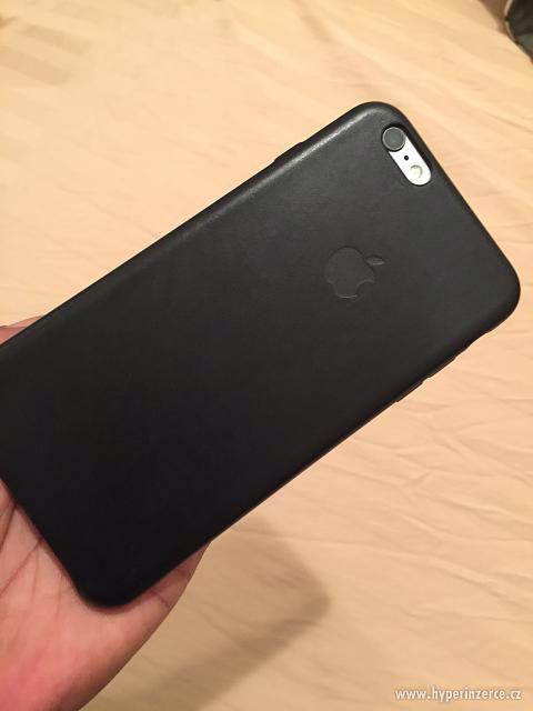 Kožený kryt Iphone 6/6S - černý, hnědý - foto 7