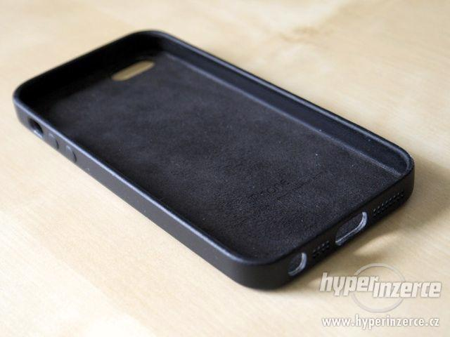 Kožený kryt Iphone 6/6S - černý, hnědý - foto 8