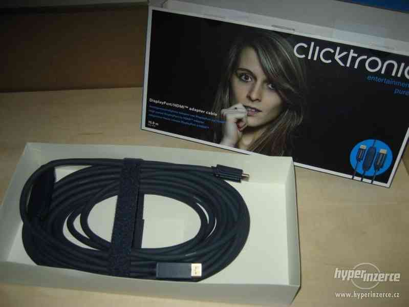 DisplayPort - HDMI typA ClickTronic - foto 1
