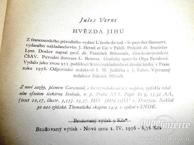 Hvězda jihu - Jules Verne - 1956 - SNDK - foto 4