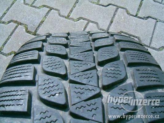 plechové disky 5x112x15 + zimní pneu 195-65-15 Bridge